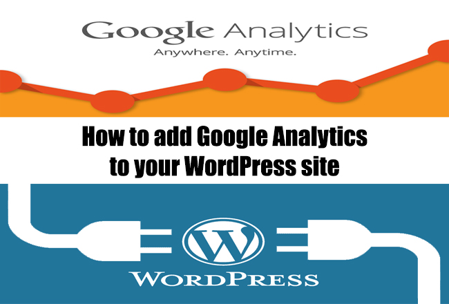How to add google analytics to your wordpress or blog